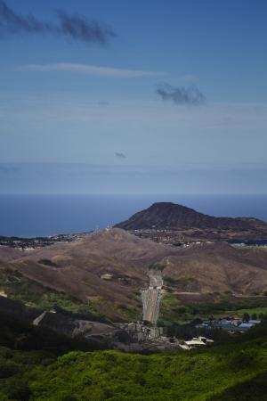 View of an hawaiian highways Stock Photo - 16146107
