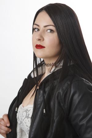 twenty: portrait of a twenty year old woman Stock Photo