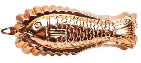 fish cake mold made of copper