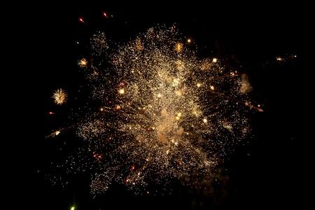 Salute in the dark sky Stock Photo - 10648937