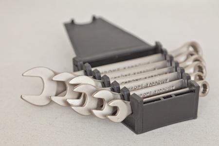 threw: Set of keys Stock Photo