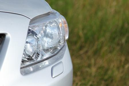 threw: Car headlight