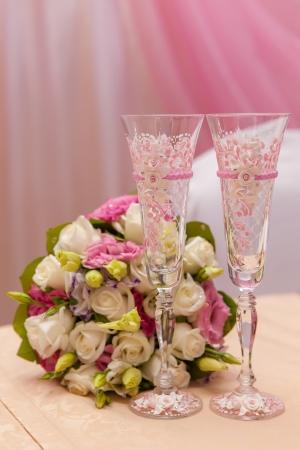Wedding Bouquet Archivio Fotografico