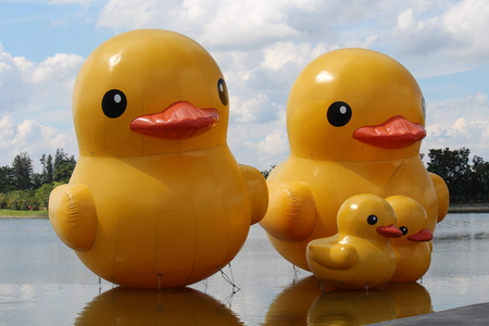 Giant Rubber Duck Stock Photos. Royalty Free Giant Rubber Duck Images