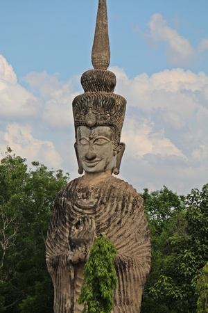 The big figure that pertains to Buddhism and Brahman