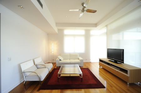 modern living room photo
