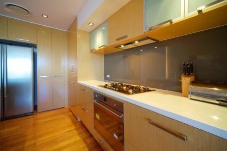modern integrated kitchen Stock Photo - 9084747