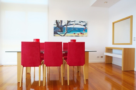 modern dining room Stock Photo - 9084712