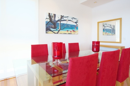 modern dining room Stock Photo - 9084702
