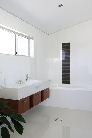 Modern shower room Stock Photo - 9084729