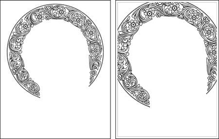 Nimbus1-2 outline vector graphics  Vector illustration, digital art Illustration