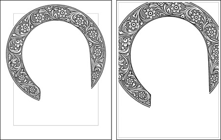 Nimbus3-4 outline vector graphics  Vector illustration, digital art