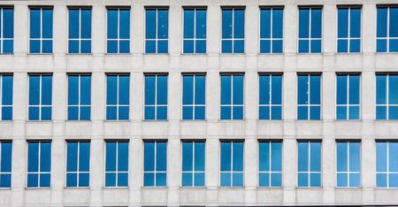 many windows: many windows mirrior of hires building outdoor shot