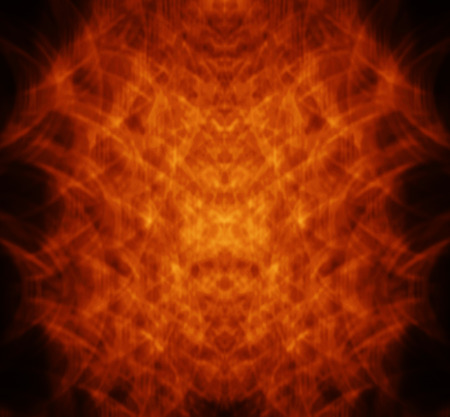 scores: illustration blurry Abstract fire in dark orange background