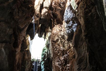 yoy: fantastic light in entrance of cave Koa-yoy at Thailand