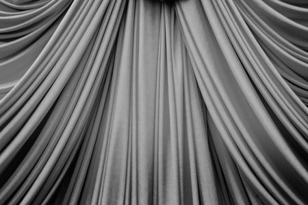 black curtain texture for background Zdjęcie Seryjne