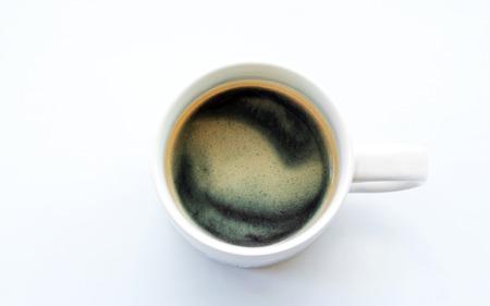 americano: americano coffee on light background