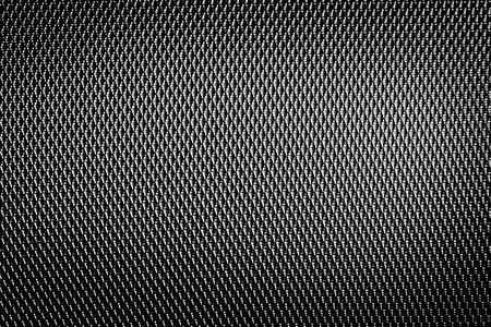 chain link: abstrack plastic net texture background in black