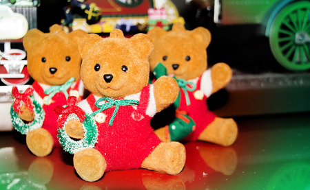 bear doll: bear doll for decoration in christmas time