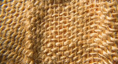 macroshot: close up macroshot of brown rattan net background