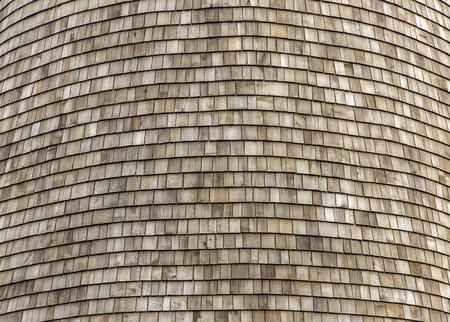 지붕 패턴에 대 한 닫기 uo 나무 질감