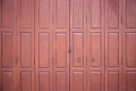 old wood door vintage style in background