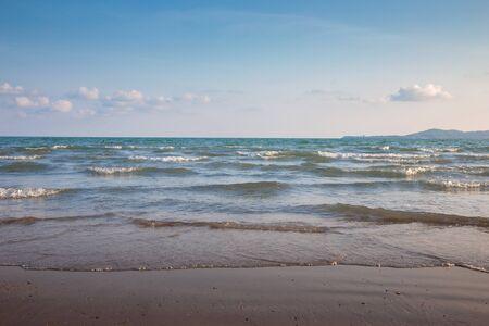 seascape heaven ocean soft wave for travel outdoor activities landscape