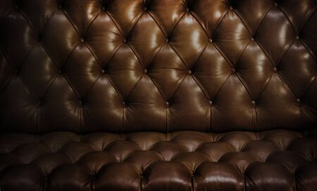 brown leather sofa texture vintage style