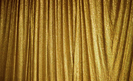 Gold Peach Lace texture in fabric pattern background