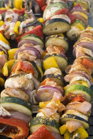 meat on grill , barbeque Stock Photo - 13041305
