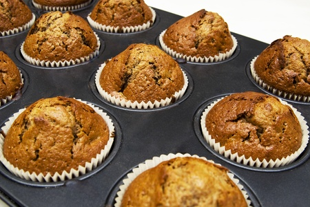 Gingerbread muffins in cups Stock Photo - 13498600