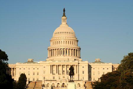 weta: Capitol o zachodzie słońca