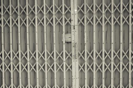 handle bars: steel slide door