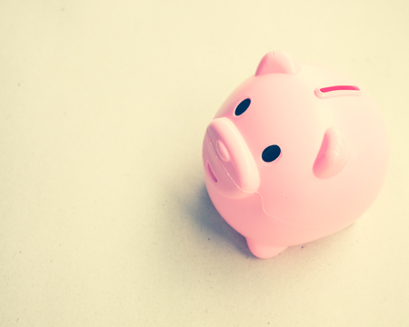 Money box used for background, saving concept Stock Photo