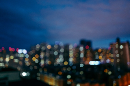 The cityscape of the night Stock Photo
