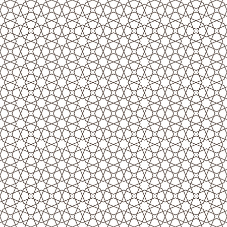 Islamic pattern. Seamless geometric background in arabian style