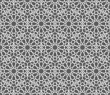 Islamitisch patroon. Naadloze geometrische achtergrond in Arabische stijl