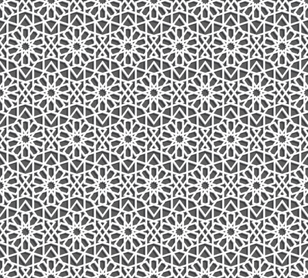 style geometric: Islamic pattern. Seamless geometric background in arabian style