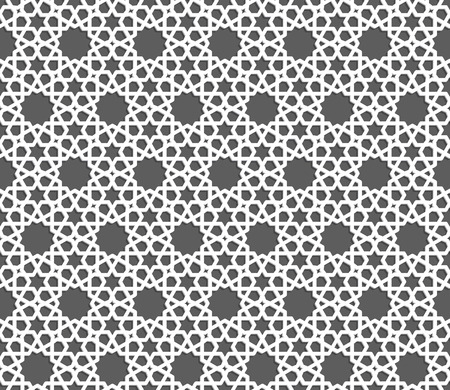 style geometric: Islamic ornament pattern. Seamless geometric background in arabian style