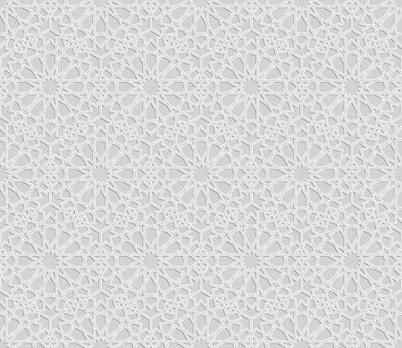 islamic pattern: Islamic pattern. Seamless vector islamic background. Geometric islamic texture, arabian style Illustration