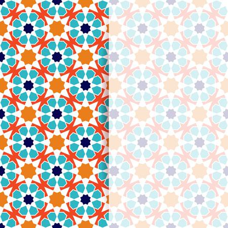 islamic pattern: Islamic pattern. Greeting flyer in islamic design. Vector invitation background in islamic style Illustration