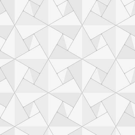 Seamless geometric vector background