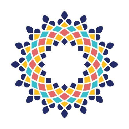 Islamic Arabic mandala