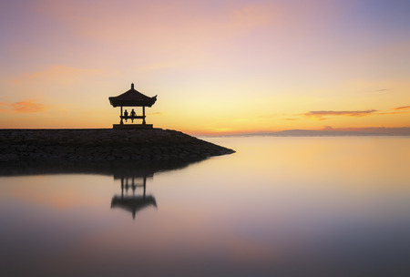 malaysia culture: Beautiful Sanur Sunrise