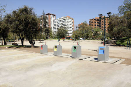 landfills: Ecological landfills in Vitacura, city of Santiago, Chile