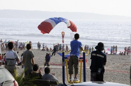 Skydiving, Mantencillo  Chile  Editorial