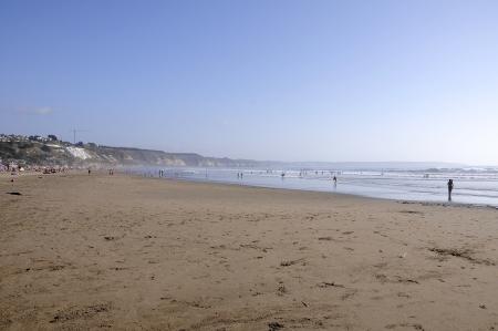 Beach, Mantencillo, Pacific Ocean, Chile