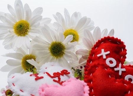 Love with daisy and messages Imagens