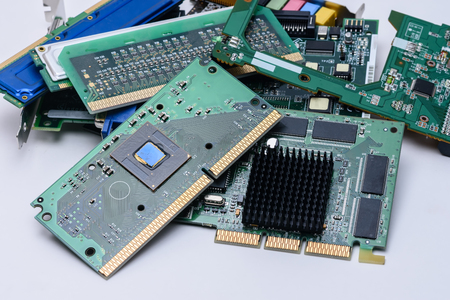 Close view components from old PC