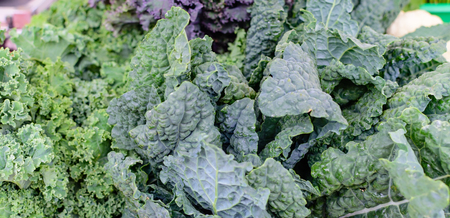 Fresh kale at the market